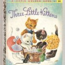Three Little Kittens Little Golden Books Book Z printing