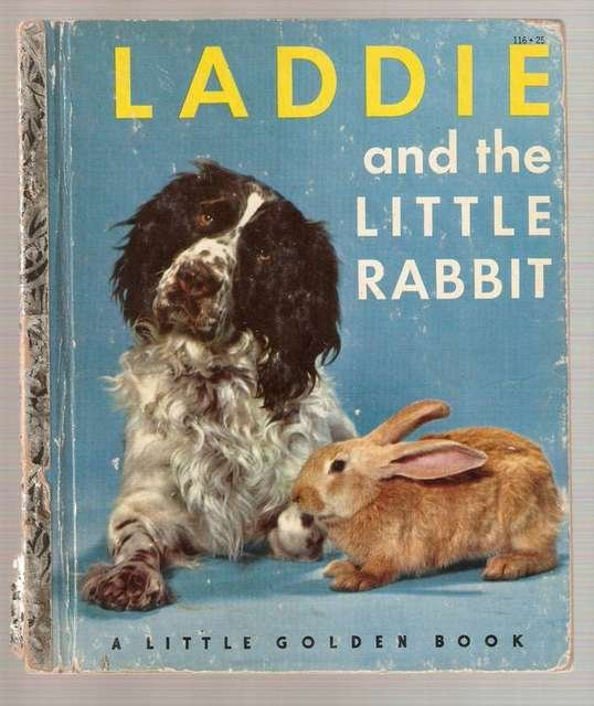 Laddie and the Little Rabbit Little Golden Books Book 1952