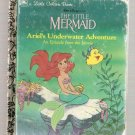 The Little Mermaid Ariel's Underwater Adventure Little Golden Books Book 1992
