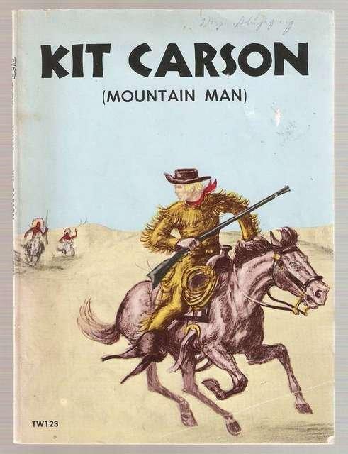 Kit Carson Mountain Man 1961 Scolastic Books Paperback