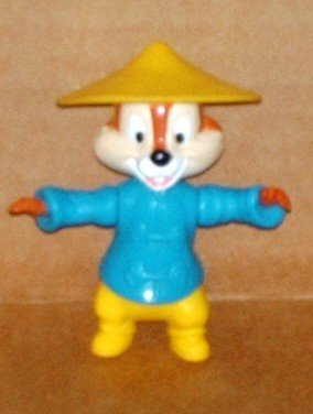 1994 McDonalds Mickey & Friends Chip In China Disney Happy Meal Toy