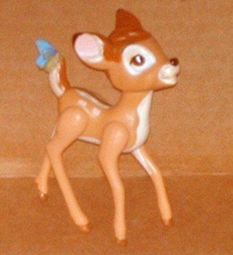 1988 McDonalds Disney Bambi PVC Figure