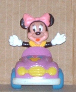 Minnie Mouse Collectible Die-Cast Car and PVC Figure Arco