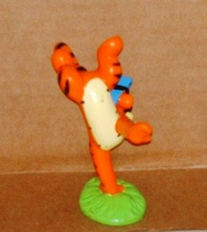 Disney Winnie The Pooh Tigger Standing on One Hand PVC Figure Fisher Price