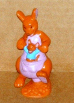 Disney Winnie the Pooh Kanga and Roo PVC Figure Fisher Price