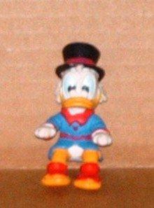 McDonald's 1988 Disney's Duck Tales II Uncle Scrooge Figure Only Loose Used