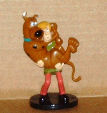 Scooby Doo and Shaggy Bakery Crafts PVC Figure Loose Used