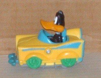 McDonald's 1993 Looney Tunes Quack-Up Cars Daffy Duck Splittin' Sportster