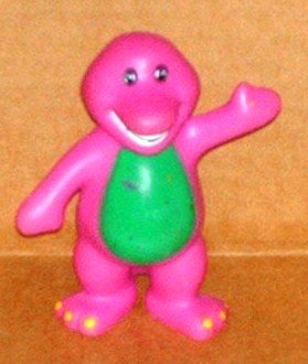 Barney The Purple Dinosaur Pvc Figure
