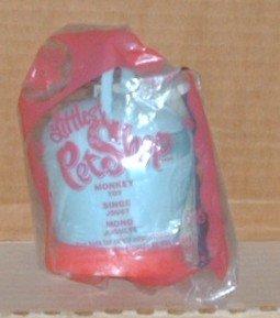 Mcdonalds Littlest Pet Shop Monkey Toy #8 in Original Bag Happy Meal