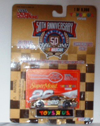 1998 Racing Champions Toys R Us Nascar 50th Anniversary #26