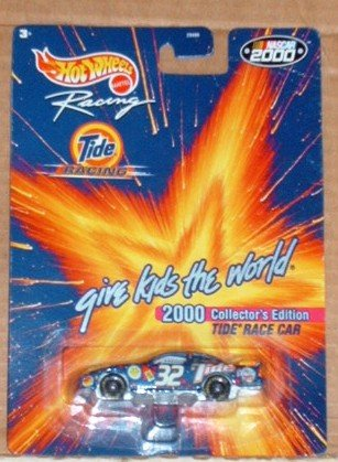 Hot Wheels Racing Nascar 2000 Tide Race Car