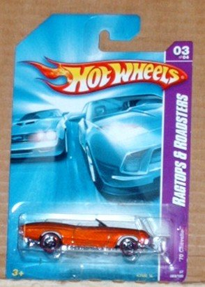 Hot Wheels 1970 Chevelle Convertible Ragtops & Roadsters Series
