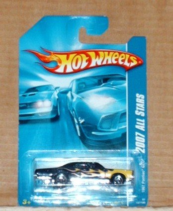 Hot Wheels 2007 All Stars #137 1967 Pontiac GTO Black