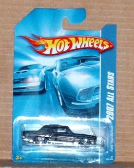 Hot Wheels 2007 All Stars Ford Thunderbolt 143 Black
