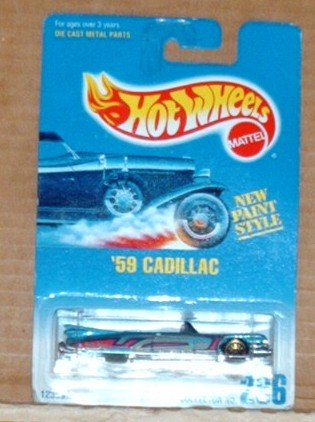 Hot Wheels #266 �59 Cadillac