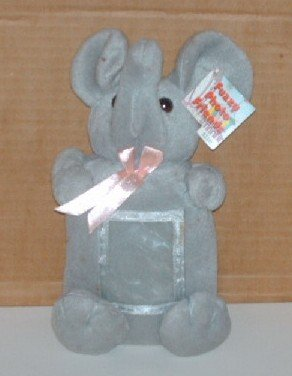 Fuzzy Photo Friends Elephant Stuffed Toy