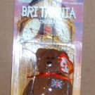 McDonalds Teenie Beanie Babies Britannia the Bear in Package  Happy Meal A