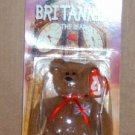 McDonalds Teenie Beanie Babies Britannia the Bear in Package  Happy Meal B