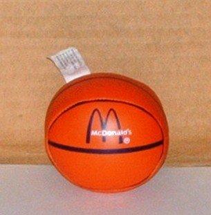 McDonalds Sports Ball Basketball Happy Meal Toy Sportsball