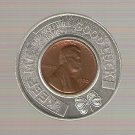 1970 Good Luck Encased Penny Token