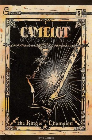 Camelot Eternal #5 Caliber Comics 1990 VG