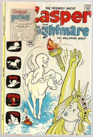 Casper and Nightmare #37 Harvey Comics Aug. 1972 FR