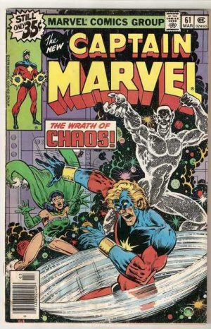 Captain Marvel (1968 series) #61 Marvel Comics March 1979 Good