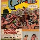 Cheyenne Kid # 57 Charlton Comics Aug. 1966 Good