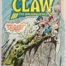 Claw the Unconquered (1975 series) #7 DC Comics June 1976 FR