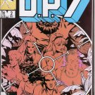 D.P.7 #2 Marvel Comics Dec. 1986 VG