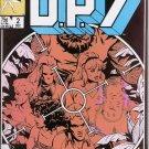 D.P.7 #2 Marvel Comics Dec. 1986 VF