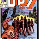D.P.7 #11 Marvel Comics Sept 1987 FN
