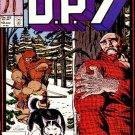 D.P.7 #10 Marvel Comics Aug 1987 FN/VF