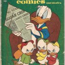 Walt Disney&#39;s Comics and Stories #193 Donald Duck Dell Oct. 1956 GD