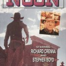 The Man Called Noon Starring Richard Crenna, Stephen Boyd VHS Movie Used