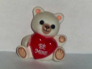 Hallmark Cards Valentine Teddy Bear Lapel Pin