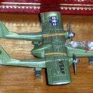 Zylmex Dyna Flites A111 Bronco Diecast Airplane