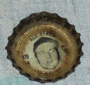 1967 Coca-Cola Baseball Bottle Cap #A19 Al Kaline Coke