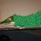 Homemade Allie the Alligator Puppet