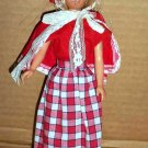 Barbie's Sister Skipper with Little Red Riding Hood Type Outfit