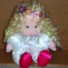 American Greetings Amtoys 1983 Blonde Girl Stuffed Doll Loose Used