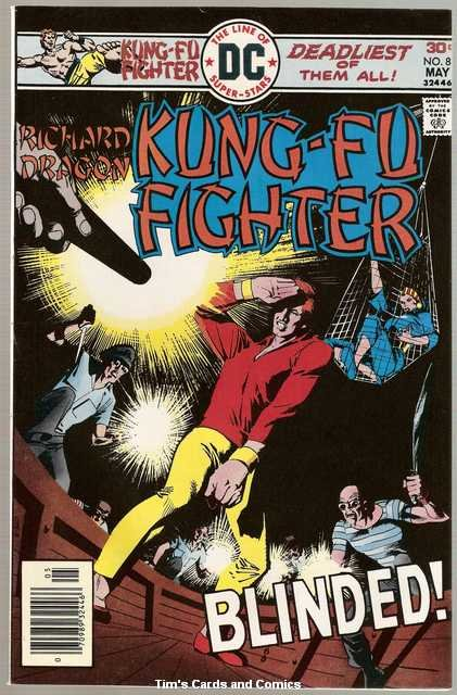 Richard Dragon Kung-Fu Fighter #8 DC Comics May 1976 FN