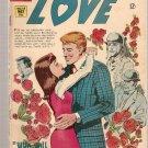 Teen-Age Love #58 Charlton Comics May 1968 GD