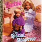Barbie The Special Sleepover Little Golden Books 1999