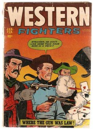 Western Fighters Vol. 4 (1952) #6 Jan-Feb. 1953 Fair