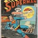 Superman (1939) #287 DC Comics May 1975 Fair