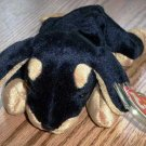 TY Beanie Babies Doby the Doberman Dog