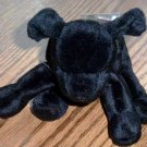 TY Beanie Babies Luke the Black Lab Dog