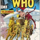 Doctor Who (1984 series) #9 Marvel Comics June 1985 GD/VG
